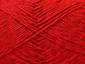 Fiber Content 50% Cotton, 50% Polyester, Red, Brand Ice Yarns, Yarn Thickness 2 Fine  Sport, Baby, fnt2-33044