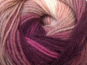 Fiber Content 100% Acrylic, White, Purple, Lilac, Brand Ice Yarns, Camel, Yarn Thickness 3 Light  DK, Light, Worsted, fnt2-33052