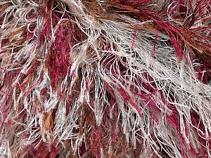 Fiber Content 100% Polyester, Light Grey, Brand Ice Yarns, Burgundy, Brown, Yarn Thickness 5 Bulky  Chunky, Craft, Rug, fnt2-33976