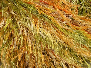 Fiber Content 100% Polyester, Yellow, Orange, Brand Ice Yarns, Green, Yarn Thickness 5 Bulky  Chunky, Craft, Rug, fnt2-33978