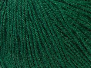 Fiber Content 40% Acrylic, 40% Merino Wool, 20% Polyamide, Brand Ice Yarns, Green, Yarn Thickness 2 Fine  Sport, Baby, fnt2-34732