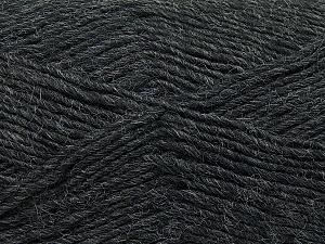 Fiber Content 50% Acrylic, 50% Wool, Brand Ice Yarns, Dark Grey, Yarn Thickness 3 Light  DK, Light, Worsted, fnt2-35021