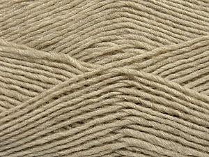Fiber Content 50% Acrylic, 50% Wool, Brand Ice Yarns, Beige, Yarn Thickness 3 Light  DK, Light, Worsted, fnt2-35023