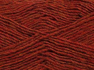 Fiber Content 50% Acrylic, 50% Wool, Brand Ice Yarns, Copper Melange, Yarn Thickness 3 Light  DK, Light, Worsted, fnt2-35026