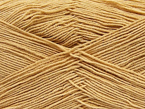 Fiber Content 55% Cotton, 45% Acrylic, Milky Brown, Brand Ice Yarns, Yarn Thickness 1 SuperFine  Sock, Fingering, Baby, fnt2-38669
