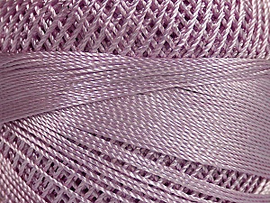 Fiber Content 100% Micro Fiber, Brand YarnArt, Lilac, Yarn Thickness 0 Lace  Fingering Crochet Thread, fnt2-40400