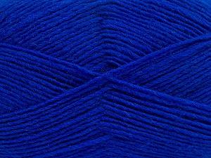 Fiber Content 50% Wool, 50% Acrylic, Brand Ice Yarns, Blue, Yarn Thickness 3 Light  DK, Light, Worsted, fnt2-40809
