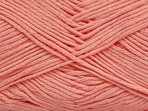 Fiber Content 50% Bamboo, 50% Cotton, Light Salmon, Brand Ice Yarns, Yarn Thickness 2 Fine  Sport, Baby, fnt2-41443