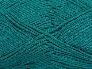 Fiber Content 50% Bamboo, 50% Cotton, Brand Ice Yarns, Green, Yarn Thickness 2 Fine  Sport, Baby, fnt2-41445