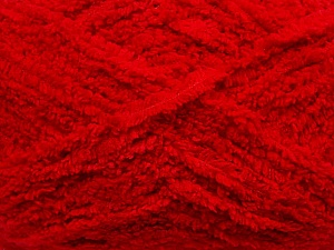 Fiber Content 100% Micro Fiber, Red, Brand Ice Yarns, Yarn Thickness 5 Bulky  Chunky, Craft, Rug, fnt2-41756