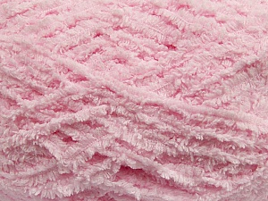 Fiber Content 100% Micro Fiber, Light Pink, Brand Ice Yarns, Yarn Thickness 5 Bulky  Chunky, Craft, Rug, fnt2-41767
