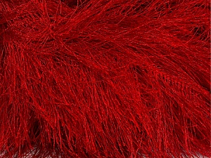 Fiber Content 100% Polyester, Red, Brand Ice Yarns, Yarn Thickness 6 SuperBulky  Bulky, Roving, fnt2-42080
