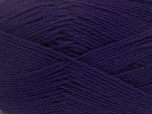 Fiber Content 100% Virgin Wool, Purple, Brand Ice Yarns, Yarn Thickness 3 Light  DK, Light, Worsted, fnt2-42311