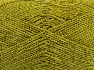 Fiber Content 100% Virgin Wool, Light Green, Brand Ice Yarns, Yarn Thickness 3 Light  DK, Light, Worsted, fnt2-42314