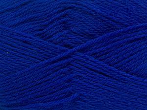 Fiber Content 100% Virgin Wool, Brand Ice Yarns, Bright Blue, Yarn Thickness 3 Light  DK, Light, Worsted, fnt2-42316