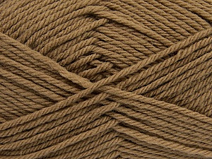 Fiber Content 50% Acrylic, 50% Polyamide, Brand Ice Yarns, Brown, Yarn Thickness 3 Light  DK, Light, Worsted, fnt2-42371