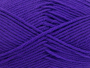 Fiber Content 50% Polyamide, 50% Acrylic, Purple, Brand Ice Yarns, Yarn Thickness 3 Light  DK, Light, Worsted, fnt2-42375
