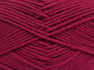 Fiber Content 50% Acrylic, 50% Polyamide, Brand Ice Yarns, Burgundy, Yarn Thickness 3 Light  DK, Light, Worsted, fnt2-42376