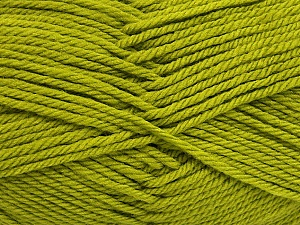 Fiber Content 50% Polyamide, 50% Acrylic, Brand Ice Yarns, Green, Yarn Thickness 3 Light  DK, Light, Worsted, fnt2-42382