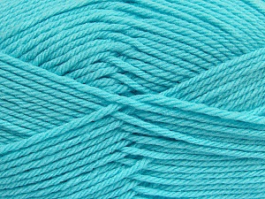 Fiber Content 50% Polyamide, 50% Acrylic, Light Turquoise, Brand Ice Yarns, Yarn Thickness 3 Light  DK, Light, Worsted, fnt2-42384