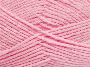 Fiber Content 50% Polyamide, 50% Acrylic, Light Pink, Brand Ice Yarns, Yarn Thickness 3 Light  DK, Light, Worsted, fnt2-42390
