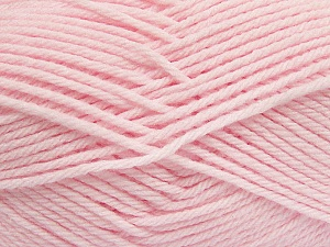 Fiber Content 50% Polyamide, 50% Acrylic, Brand Ice Yarns, Baby Pink, Yarn Thickness 3 Light  DK, Light, Worsted, fnt2-42391