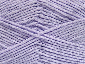 Fiber Content 50% Acrylic, 50% Polyamide, Lilac, Brand Ice Yarns, Yarn Thickness 3 Light  DK, Light, Worsted, fnt2-42392