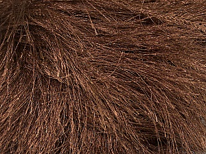 Fiber Content 100% Polyester, Brand Ice Yarns, Brown, Yarn Thickness 6 SuperBulky  Bulky, Roving, fnt2-42808