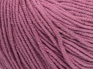 Fiber Content 50% Cotton, 50% Acrylic, Orchid, Brand Ice Yarns, Yarn Thickness 3 Light  DK, Light, Worsted, fnt2-43071