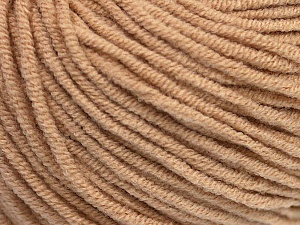 Fiber Content 50% Acrylic, 50% Cotton, Latte, Brand Ice Yarns, Yarn Thickness 3 Light  DK, Light, Worsted, fnt2-43835