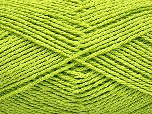 Fiber Content 100% Cotton, Light Green, Brand Ice Yarns, Yarn Thickness 3 Light  DK, Light, Worsted, fnt2-44327