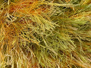 Fiber Content 100% Polyester, Yellow, Orange, Brand Ice Yarns, Green, Yarn Thickness 6 SuperBulky  Bulky, Roving, fnt2-45066