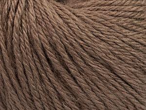Fiber Content 40% Merino Wool, 40% Acrylic, 20% Polyamide, Rose Brown, Brand Ice Yarns, Yarn Thickness 3 Light  DK, Light, Worsted, fnt2-45807