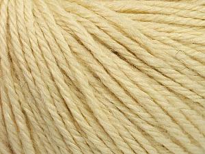 Fiber Content 40% Merino Wool, 40% Acrylic, 20% Polyamide, Brand Ice Yarns, Cream, Yarn Thickness 3 Light  DK, Light, Worsted, fnt2-45808