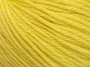 Περιεχόμενο ίνας 40% Ακρυλικό, 40% Μαλλί Μερινός , 20% Πολυαμίδη, Light Yellow, Brand Ice Yarns, Yarn Thickness 3 Light  DK, Light, Worsted, fnt2-45815