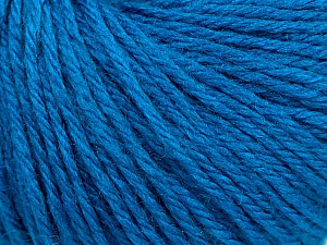 Fiber Content 40% Merino Wool, 40% Acrylic, 20% Polyamide, Turquoise, Brand Ice Yarns, Yarn Thickness 3 Light  DK, Light, Worsted, fnt2-45819