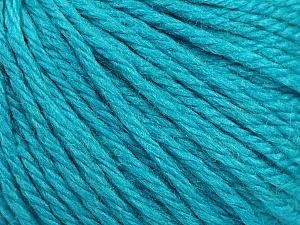 Fiber Content 40% Merino Wool, 40% Acrylic, 20% Polyamide, Turquoise, Brand Ice Yarns, Yarn Thickness 3 Light  DK, Light, Worsted, fnt2-45820
