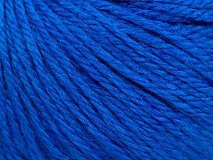 Fiber Content 40% Merino Wool, 40% Acrylic, 20% Polyamide, Brand Ice Yarns, Blue, Yarn Thickness 3 Light  DK, Light, Worsted, fnt2-45822