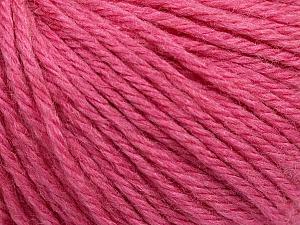 Fiber Content 40% Merino Wool, 40% Acrylic, 20% Polyamide, Rose Pink, Brand Ice Yarns, Yarn Thickness 3 Light  DK, Light, Worsted, fnt2-45826