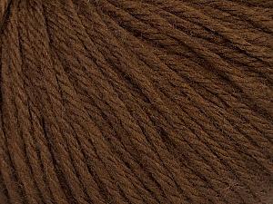 Fiber Content 40% Acrylic, 40% Merino Wool, 20% Polyamide, Brand Ice Yarns, Brown, Yarn Thickness 3 Light  DK, Light, Worsted, fnt2-46037