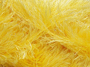 Fiber Content 80% Polyester, 20% Lurex, Light Yellow, Brand Ice Yarns, Yarn Thickness 5 Bulky  Chunky, Craft, Rug, fnt2-46552