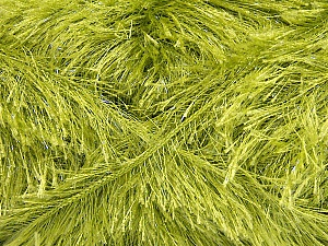 Fiber Content 80% Polyester, 20% Lurex, Brand Ice Yarns, Green, Yarn Thickness 5 Bulky  Chunky, Craft, Rug, fnt2-46560