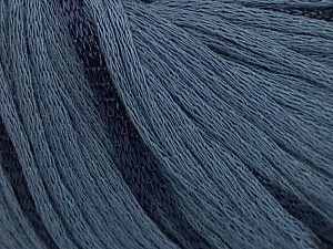 Fiber Content 79% Cotton, 21% Viscose, Brand Ice Yarns, Dark Slate Grey, Yarn Thickness 3 Light  DK, Light, Worsted, fnt2-48335