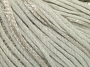 Fiber Content 79% Cotton, 21% Viscose, Light Grey, Brand Ice Yarns, Yarn Thickness 3 Light  DK, Light, Worsted, fnt2-48339