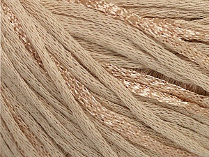 Fiber Content 79% Cotton, 21% Viscose, Brand Ice Yarns, Beige, Yarn Thickness 3 Light  DK, Light, Worsted, fnt2-48340