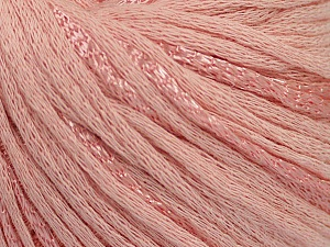 Fiber Content 79% Cotton, 21% Viscose, Light Pink, Brand Ice Yarns, Yarn Thickness 3 Light  DK, Light, Worsted, fnt2-48345