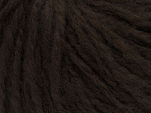 Fiber Content 60% Acrylic, 40% Wool, Brand Ice Yarns, Dark Brown, Yarn Thickness 4 Medium  Worsted, Afghan, Aran, fnt2-48785
