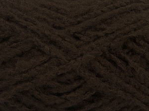 Fiber Content 40% Wool, 40% Acrylic, 20% Polyamide, Brand Ice Yarns, Dark Brown, fnt2-49127