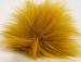 Gold 2 Faux Fur PomPoms
