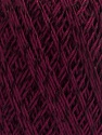 Ne: 10/3 +600d. Viscose. Nm: 17/3 Fiber Content 72% Mercerised Cotton, 28% Viscose, Maroon, Brand Ice Yarns, Yarn Thickness 1 SuperFine  Sock, Fingering, Baby, fnt2-49866